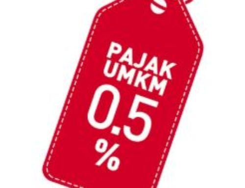 PENURUNAN TARIF PAJAK UMKM MENJADI 0,5%