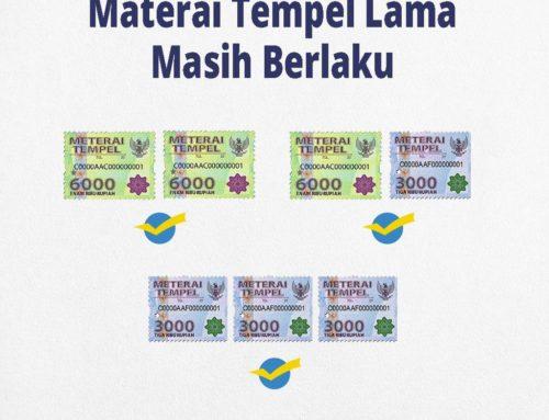 Pembayaran Materai & Pemateraian Kemudian